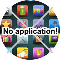 No application!