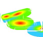 ヒートマップ動態計測